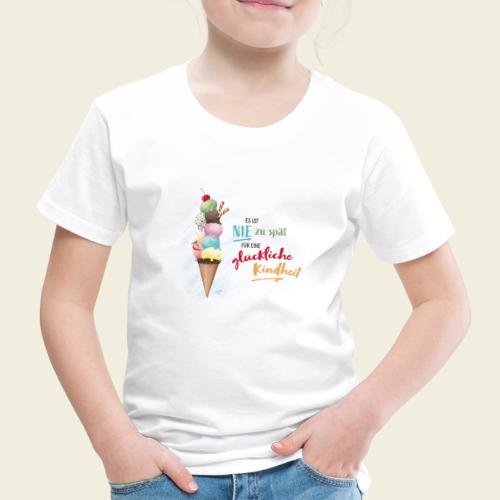 Eis - glückliche Kindheit - Kinder Premium T-Shirt