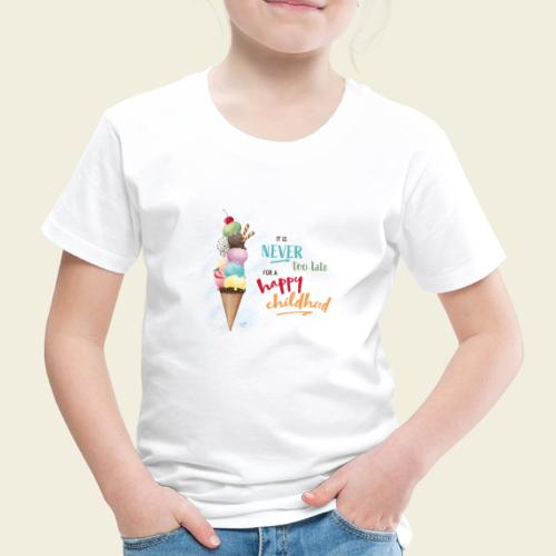 Eis - Kindheit - Kinder Premium T-Shirt