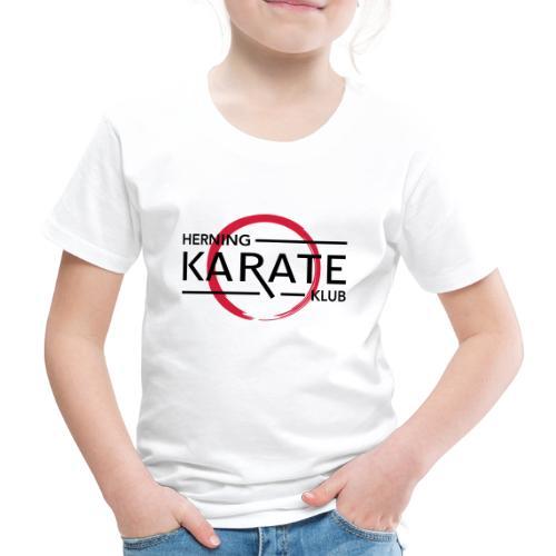 HKK Sort - Børne premium T-shirt