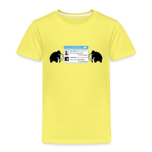 homo-sapiens et néandertal - T-shirt Premium Enfant