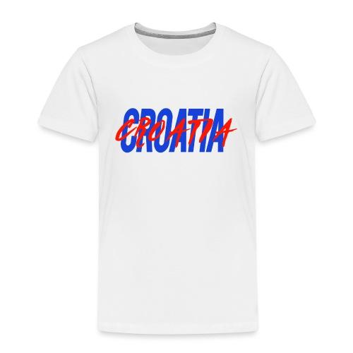 CROATIA TWOFOLD DESIGN - Kids' Premium T-Shirt