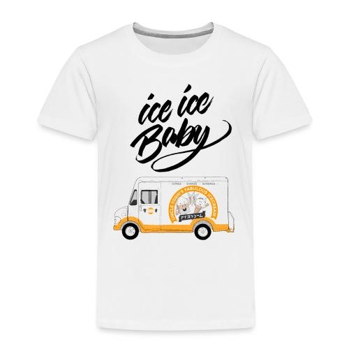 Ice Truck – Ice Ice Baby - Kinder Premium T-Shirt