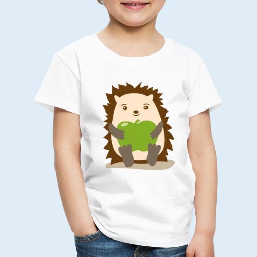 Igelchen - Geschenk für Geburt Geburtstag o. Taufe - Kinder Premium T-Shirt