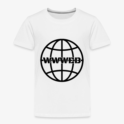 WWWeb (black) - Kids' Premium T-Shirt
