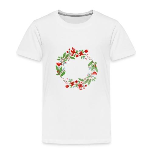 flowers - Kinder Premium T-Shirt