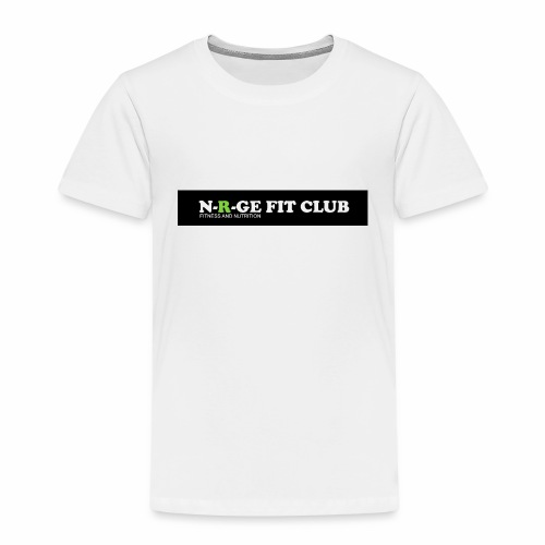 N-R-GE FIT CLUB LOGO - Kids' Premium T-Shirt