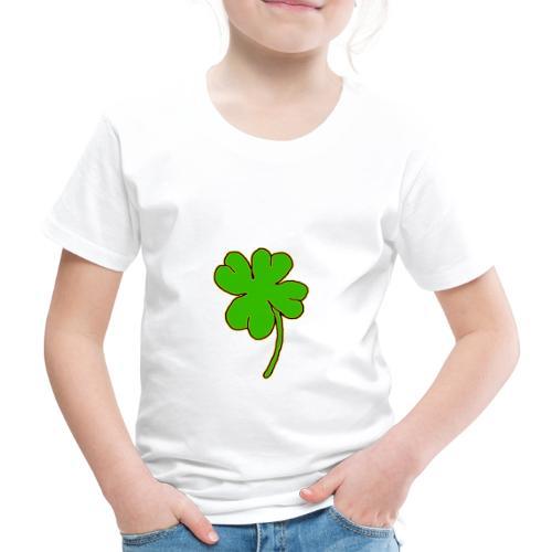 Leprechaun's Kleeblatt - Kinder Premium T-Shirt