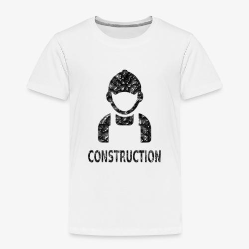 Construction - Camiseta premium niño