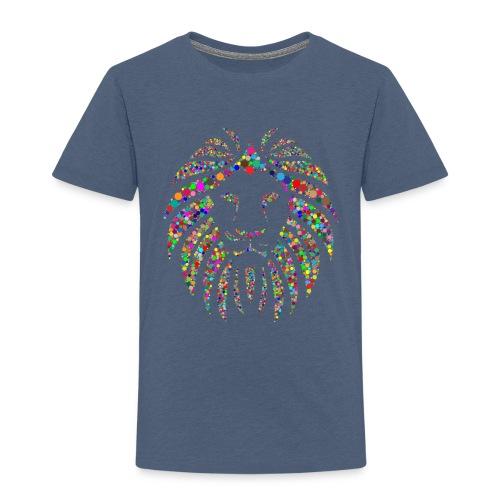 Ausdruck des Löwen - Kinder Premium T-Shirt