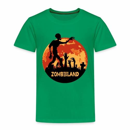 Zombieland Halloween Design - Kinder Premium T-Shirt