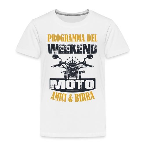 MOTO WEEKEND - Maglietta Premium per bambini
