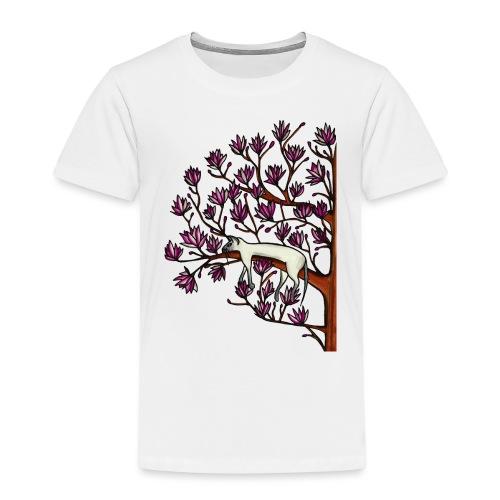 Magnolia - Premium-T-shirt barn