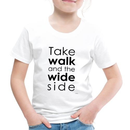 LOU-REDD-walk-black - Kids' Premium T-Shirt