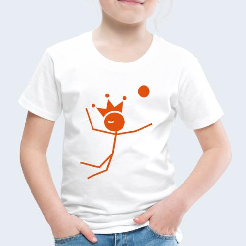 Volleybalkoning - Kinderen Premium T-shirt