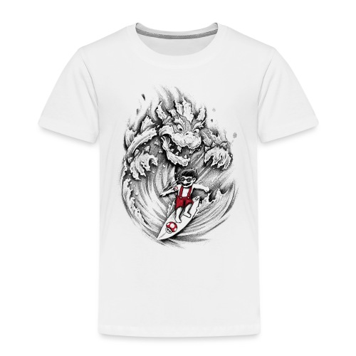 Surfing Mario - Kids' Premium T-Shirt