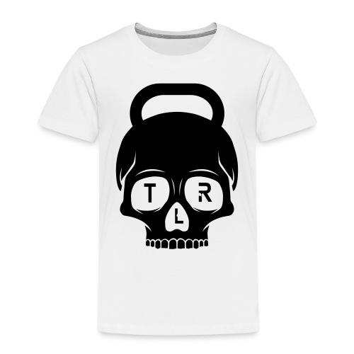 TLR Skull 2 red T-shirt - Premium-T-shirt barn