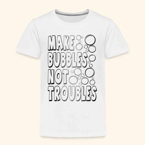 Bubbles002 - Kinderen Premium T-shirt