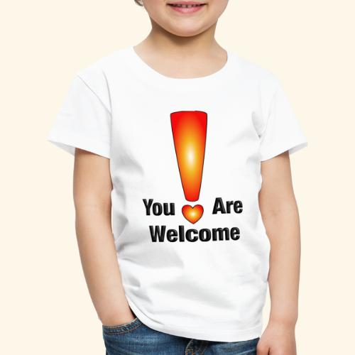 You are welcome1 - Kinder Premium T-Shirt