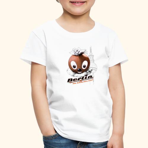 Pittiplatsch 3D Berlin auf hell - Kinder Premium T-Shirt