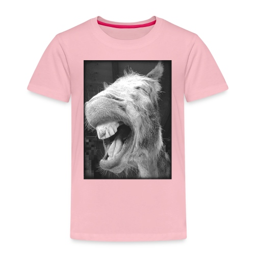 lachender Esel - Kinder Premium T-Shirt