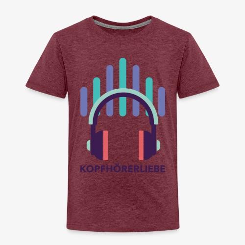 kopfhörerliebe - Kinder Premium T-Shirt