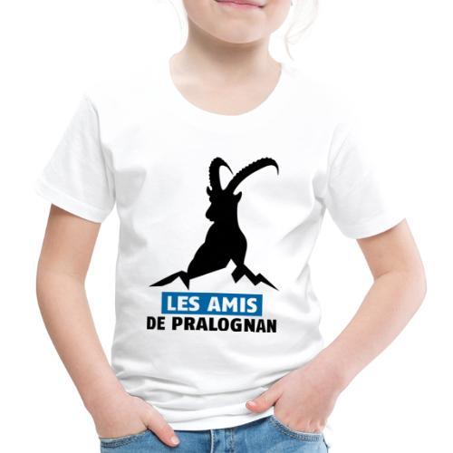 Logo Les Amis de Pralo grand noir - T-shirt Premium Enfant