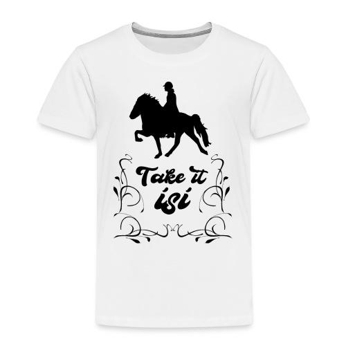 Isländer Pony Isi T-Shirt Islandpferd - Kinder Premium T-Shirt