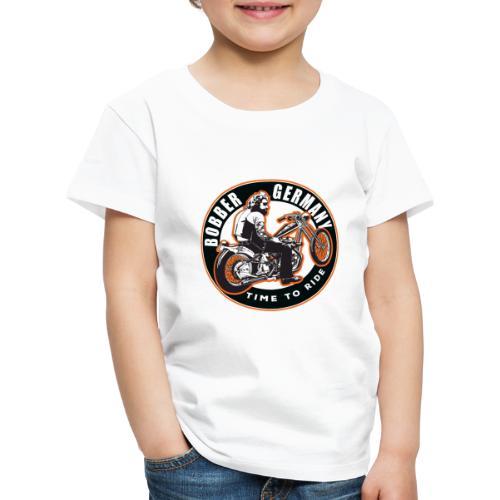 Bobber Germany - Chopper Motorrad Racing HD Custom - Kinder Premium T-Shirt