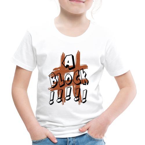 H-Tag A Block - T-shirt Premium Enfant
