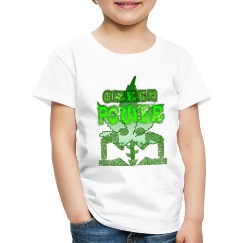 Green Power - T-shirt Premium Enfant