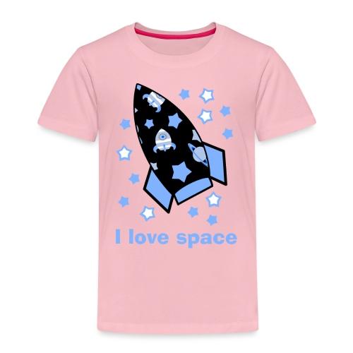 I love space - Maglietta Premium per bambini
