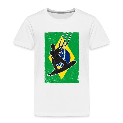Kitesurfen - Brasilien - Kinder Premium T-Shirt