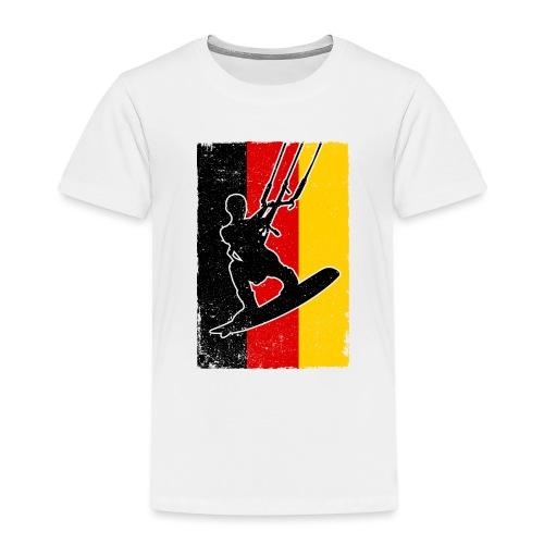 Kitesurfer Germany - Kinder Premium T-Shirt