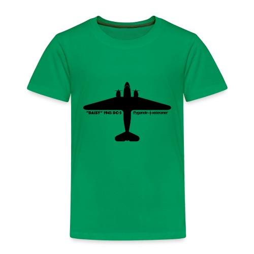 Daisy Silhouette Top 1 - Premium-T-shirt barn