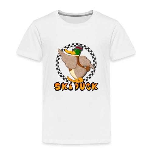 Ska Duck - Maglietta Premium per bambini