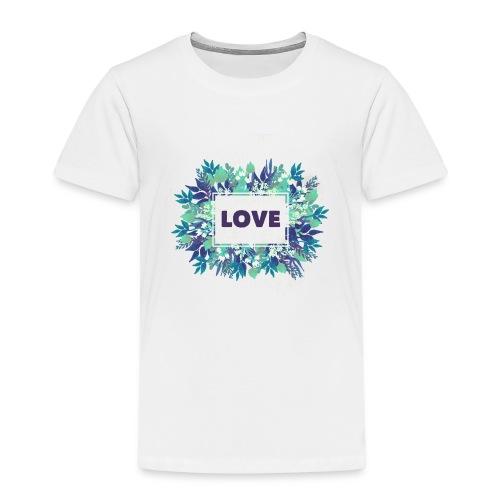 LOVE - Camiseta premium niño