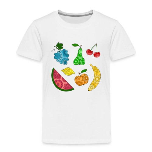 Obstsalat - Kinder Premium T-Shirt