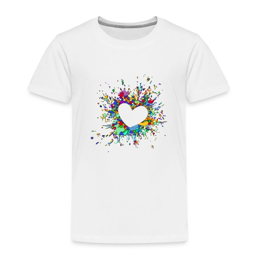 My heart explodes for you - Kids' Premium T-Shirt