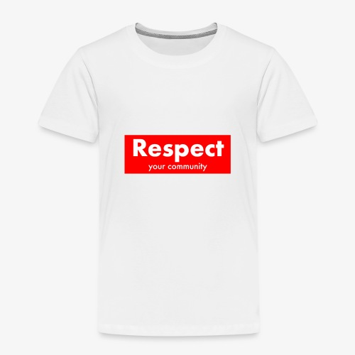 upmost Respect! - Kids' Premium T-Shirt
