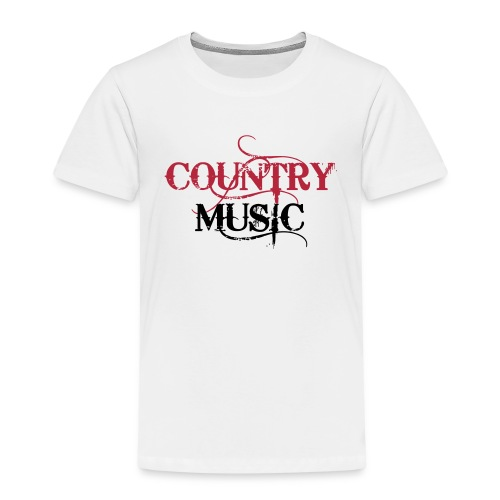 Country Music - T-shirt Premium Enfant