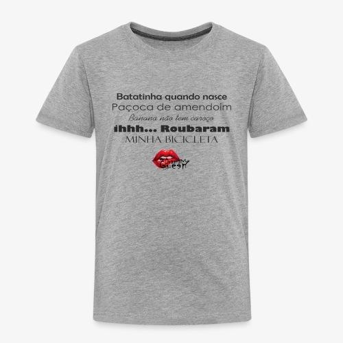 Minha bibicleta - Kids' Premium T-Shirt
