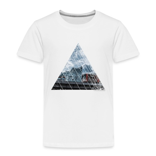 Hamburg Stadt Licht Harmony - Kinder Premium T-Shirt