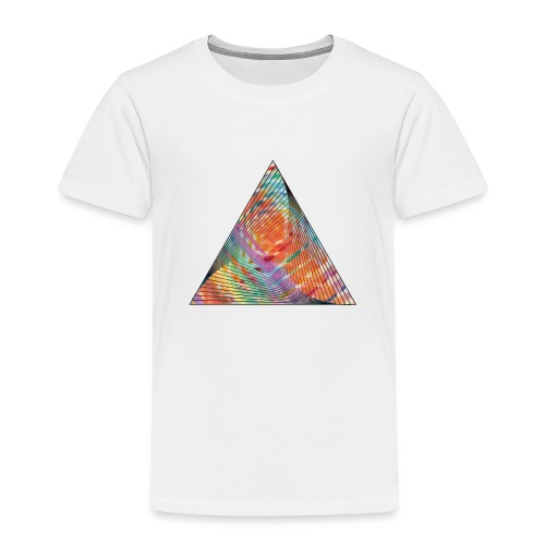 Triangle of twisted color - Kids' Premium T-Shirt