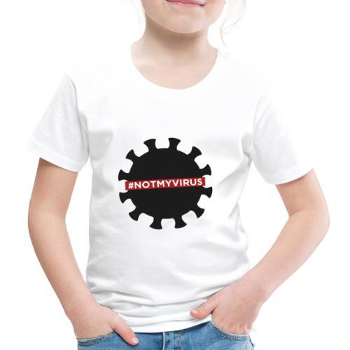 NotMyVirus black - T-shirt Premium Enfant