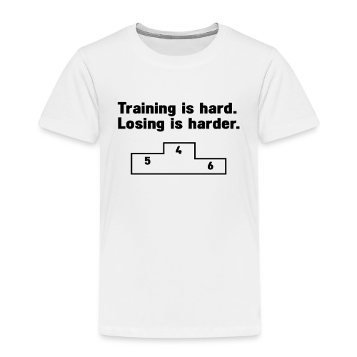Training vs losing - Kids' Premium T-Shirt