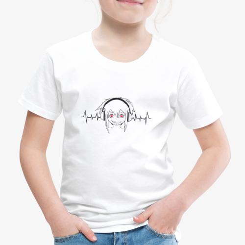 I LOVE MUSIC - Kinder Premium T-Shirt