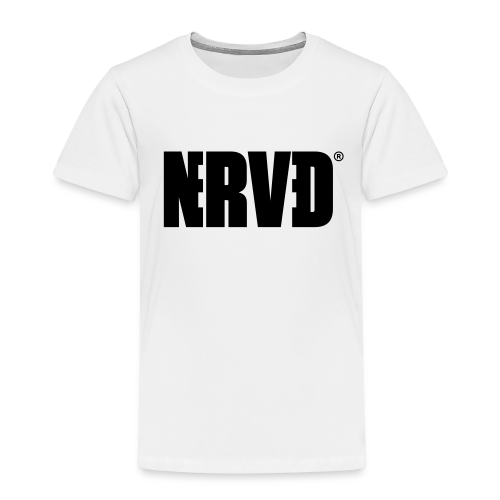 Official Nerved® Logo Black - Kids' Premium T-Shirt