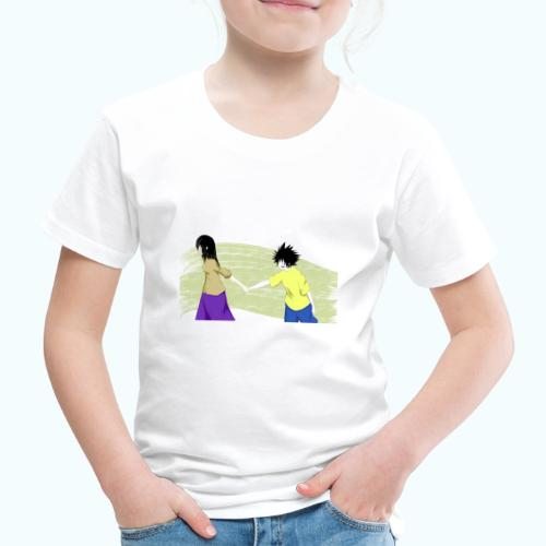 WHERE? Real drawing - Kids' Premium T-Shirt