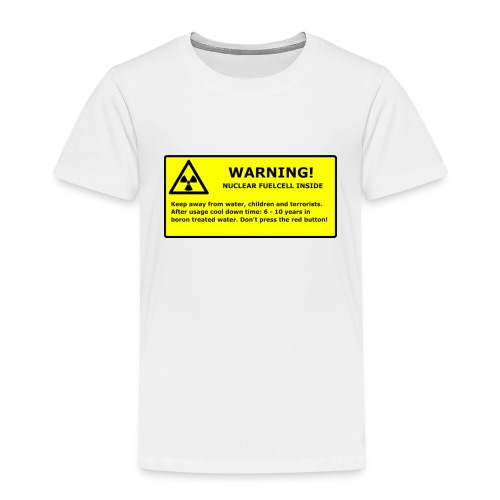 nuclear handy png - Kinder Premium T-Shirt