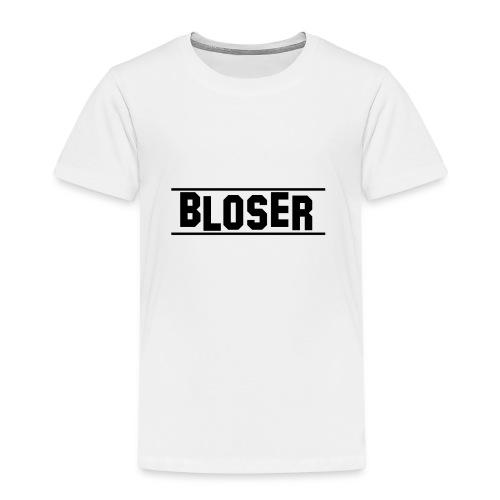 Bloser Design Black 2 - Kinder Premium T-Shirt